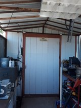 Tool shed in Alamogordo, New Mexico