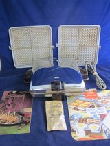 ARVIN 3550-1 Griddle Pancake Sandwich w Waffle Iron Inserts VINTAGE in Bolingbrook, Illinois