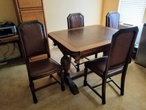 Gorgeous Antique Dining Set in Beale AFB, California