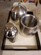 Pier 1 Imports Stainless Bar Set in Beale AFB, California