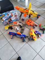 set nerf alle of the pic  fom my son  ,, all Nerf for SALE in Wiesbaden, GE