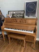 Kawai Oak Upright Piano in Aurora, Illinois