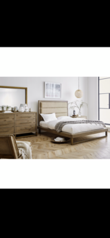NEW! UPSCALE / LUXURIOUS SOLID QUALITY WOOD PLATFORM BED SET! BY M. INTERNATIONAL in Vista, California