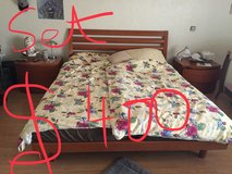 Master Bed Set real wood form Italy in Alamogordo, New Mexico