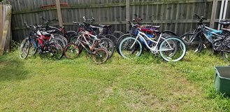 20 bicycle lot in Fort Campbell, Kentucky