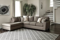 NEW! LUXURIOUS COMFY USA MADE SOFA CHAISE SECTIONAL! in Camp Pendleton, California
