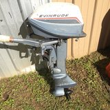 6hp Evinrude outboard boat motor in Fort Polk, Louisiana