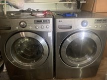 LG HE Front Load Washer and Dryer in Eglin AFB, Florida
