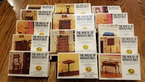 14 House of Miniatures Furniture Kits NEW Sealed in Naperville, Illinois