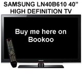 "REDUCED! SAMSUNG LN40B610 40"" HIGH DEFINITION TV in Fairfield, California"