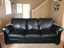 Leather Couch and Matching Chairs in Fort Rucker, Alabama