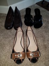 Womens size 9.5 shoe lot all for $8 in Morris, Illinois