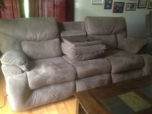 Reclining sofa in Aurora, Illinois