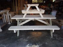 Adult picnic table-Child table in Warner Robins, Georgia