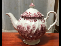 Johnson Brothers Teapot (COACHING SCENES) in Okinawa, Japan