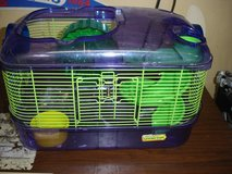 Critter Trail hamster cage with slide & wheel (no top) in Joliet, Illinois