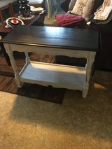 "Drop leaf table 17""wide 36""long with leafs down 58""long with leafs up 26"" tall in Houston, Texas"