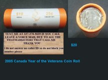2005 Canada Year of the Veterans Coin Roll in Fort Polk, Louisiana