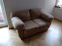 Suede Sofa/Love Seat in Wiesbaden, GE