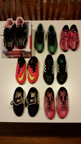 Lot of Girls Soccer Cleats and Indoor Soccer Shoes in Oswego, Illinois