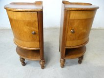 Antique Corner End Tables - Inlaid in Pearland, Texas