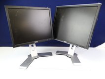 Dell Brand, Adjustable Computer Dual-Monitor Combo (3) in Pearland, Texas