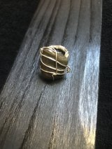 Bohemian Stone ring -Handcrafted- Size 5/6 in Alamogordo, New Mexico