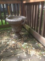 Pair of Cement Urns in Naperville, Illinois