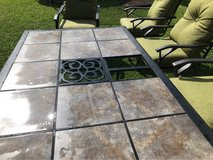 New 7 piece Outdoor cushioned patio set in Okinawa, Japan