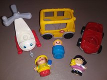 Fisher Price Vehicles w/ detachable Figures in Vista, California