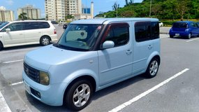Perfect family car 03' Nissan Cube in Okinawa, Japan