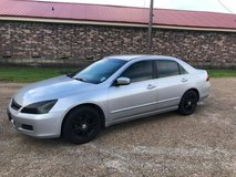 2006 HONDA ACCORD LX in Leesville, Louisiana
