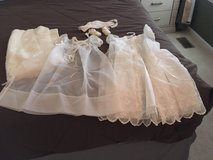 Baptism Outfit complete with shawl, shoes,and hat in Joliet, Illinois
