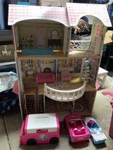 Barbie house and cars in Aurora, Illinois