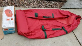 Large canvas artificial tree bag in Naperville, Illinois