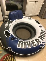 "Intex River Run/Sport Lounge Inflatable Water Float 53"" Dia. in Warner Robins, Georgia"
