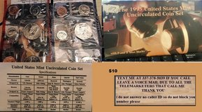 1995 us mint uncirculated coin set in Fort Polk, Louisiana