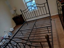 Queen size bed frame in Naperville, Illinois