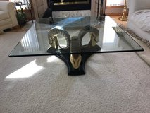Glass cocktail table in Naperville, Illinois