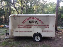 6x12 enclosed trailer $2,000.00 in Macon, Georgia
