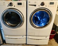 Washer- Dryer and pedestals in Morris, Illinois
