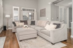 grey sectional *like new!* in Joliet, Illinois