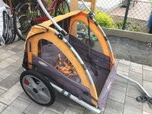 Instep  Kids/Child Bicycle Tow Behind Trailer, Green Foldable 2 Passengers in Ramstein, Germany
