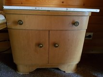 German antic dresser with two night stands in Ramstein, Germany