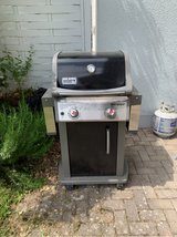 Weber gas grill in Ramstein, Germany