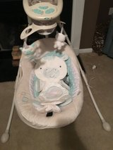 Fisher price Baby swing cradle and swing in Camp Lejeune, North Carolina