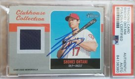 shohei ohtani anaheim california angels psa dna autograph auto signed card in Okinawa, Japan