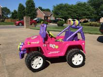 Power Wheels Barbie Jeep Wrangler in Fort Campbell, Kentucky