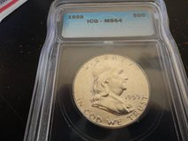 1959 ms 64 ben franklin half in Fort Campbell, Kentucky