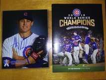 Chicago Cubs Rizzo and Edwards Jr. Autographs in Yorkville, Illinois